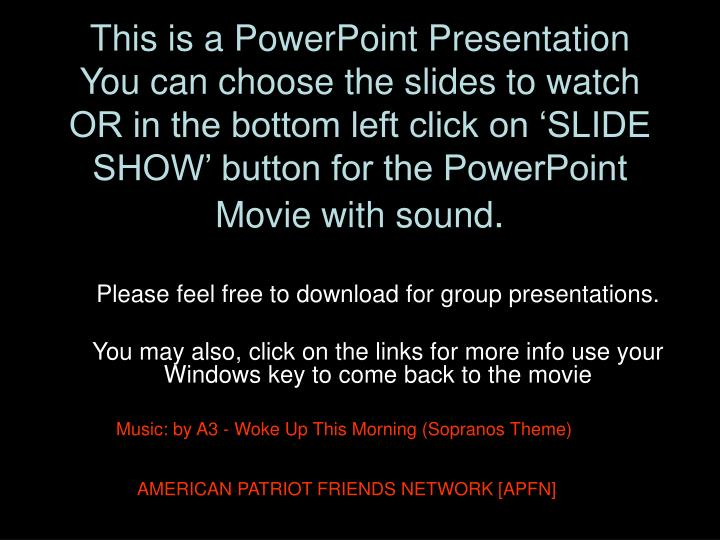 This is a PowerPoint Presentation