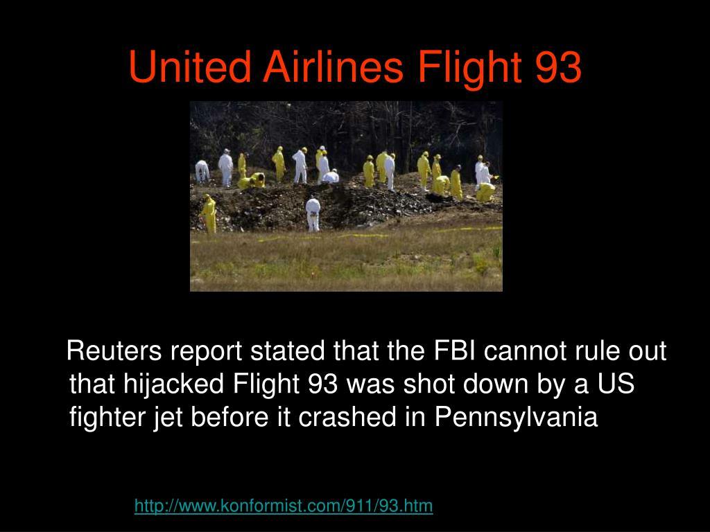 United Airlines Flight 93