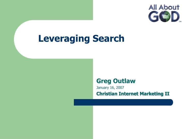 leveraging search n.