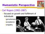 humanistic perspective2