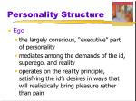 personality structure2