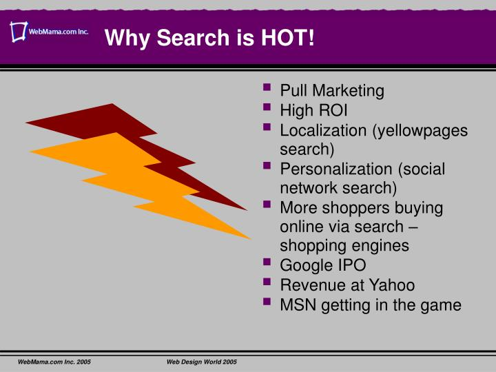 Why Search is HOT!