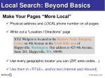 local search beyond basics13