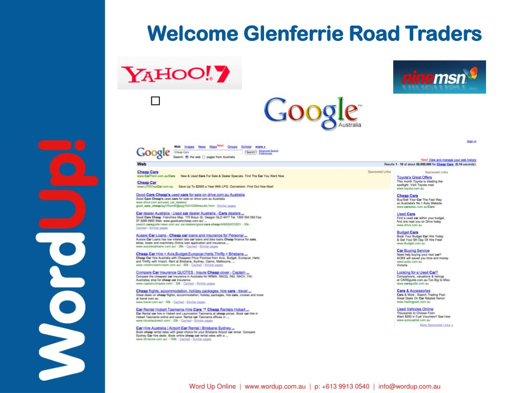 welcome glenferrie road traders l.