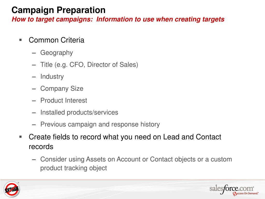 PPT - Best Practice: Campaign Management for Marketing