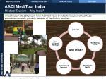 aadi meditour india medical tourism why india