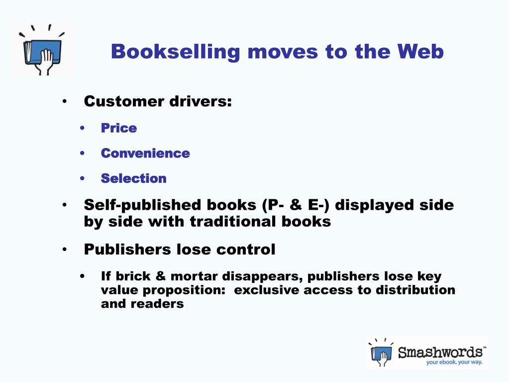 Bookselling moves to the Web