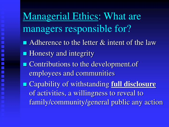 ethics responsibility and integrity This responsibility is now a healthy dialogue about academic integrity and ethics will go a long way to ensure that the public trust and the professional trust.