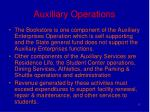 auxiliary operations