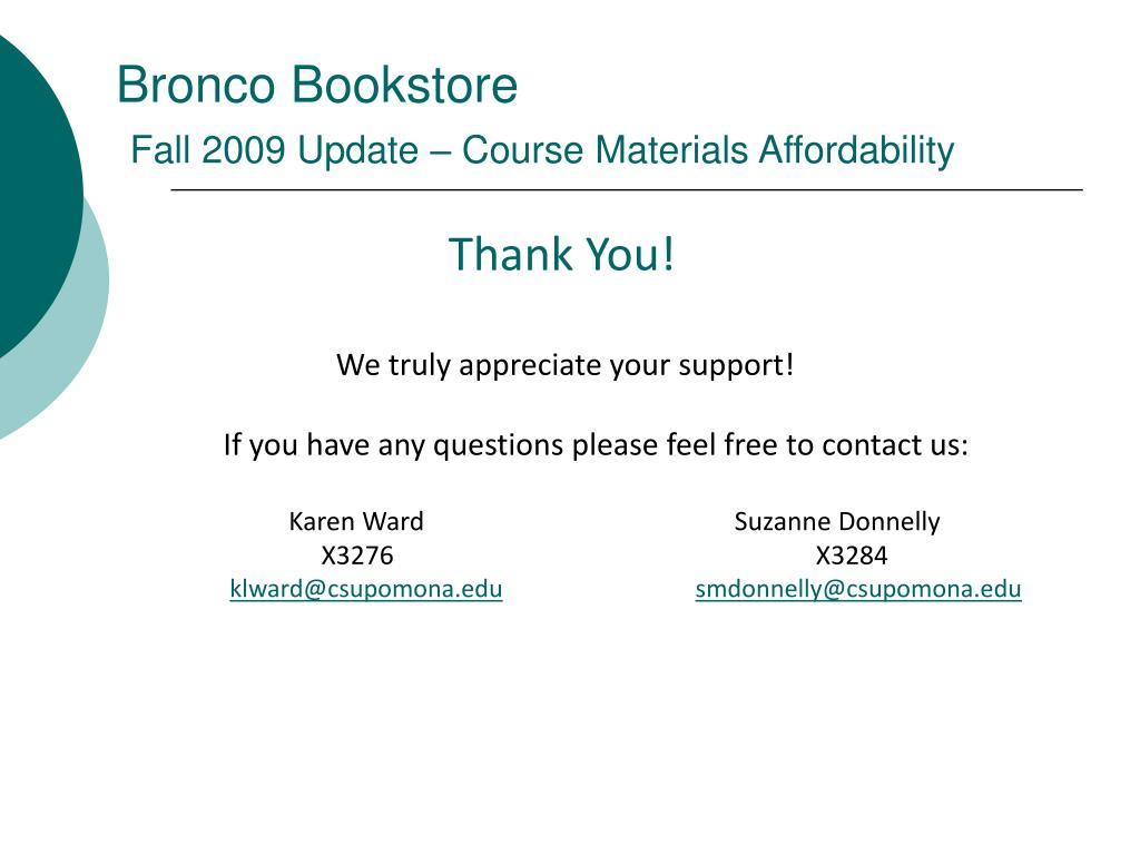 Bronco Bookstore