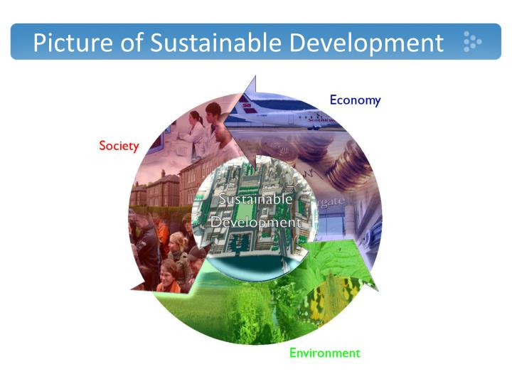 Picture of sustainable development