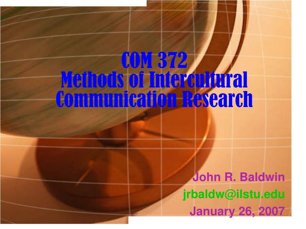 com 372 methods of intercultural communication research l.