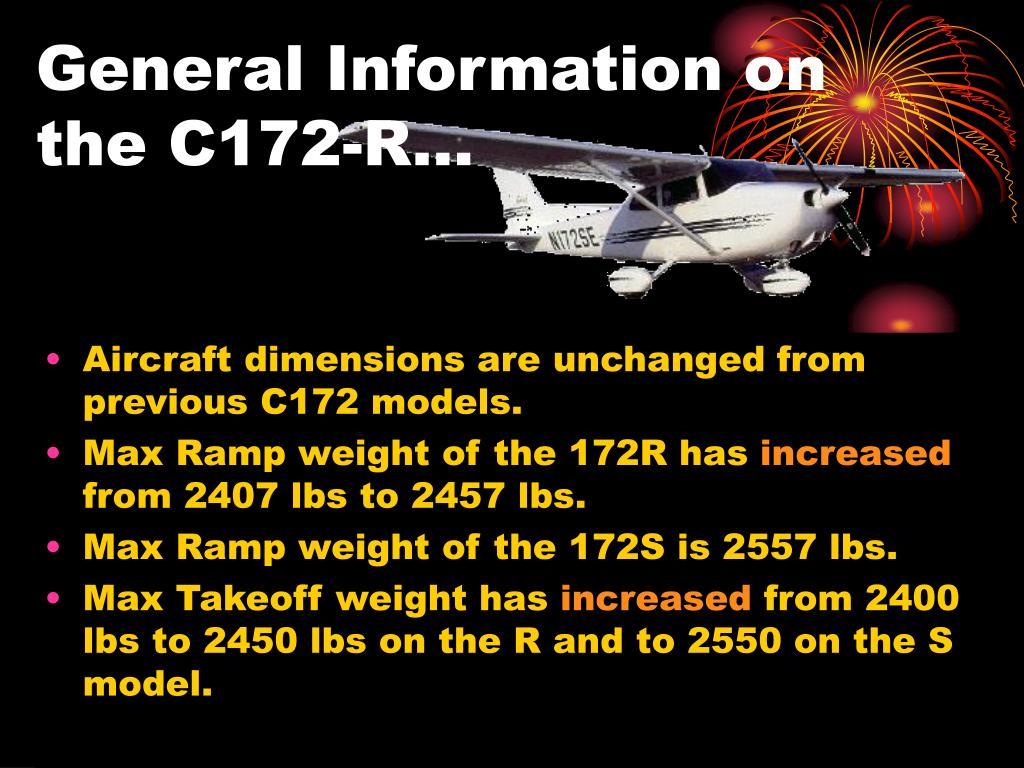 PPT - CESSNA 172-R Pilot Familiarization PowerPoint