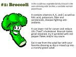 1 broccoli