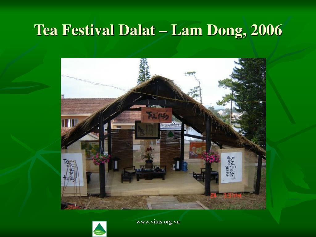 Tea Festival Dalat – Lam Dong, 2006