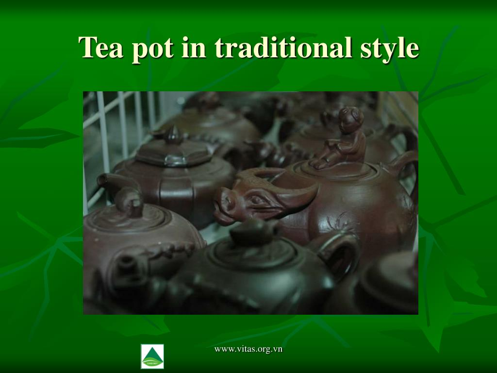 Tea pot in traditional style