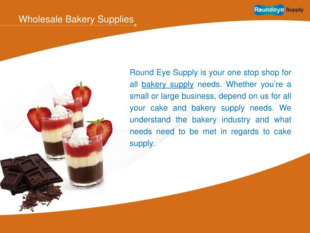 Wholesale Bakery Supplies