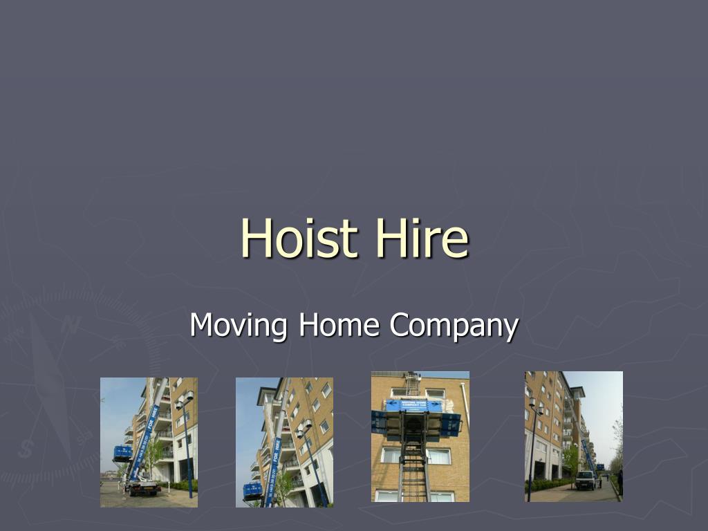 hoist hire