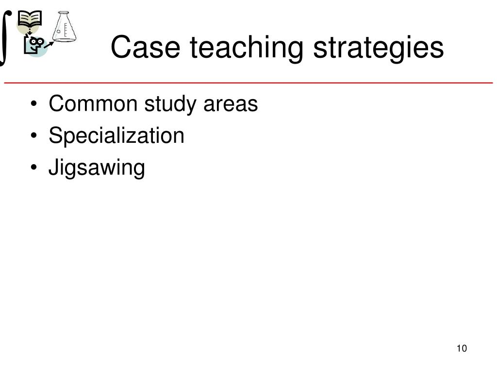 Case teaching strategies