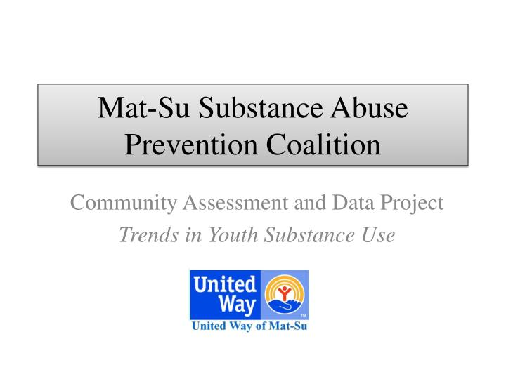 an assessment of community substance abuse prevention measure in springfield missouri Community health needs assessment for years, many minnesota hospitals and health systems conducted formal or informal assessments of their communities' health needs and completing a community health needs assessment (chna) is a federal requirement for private, non-profit hospitals.