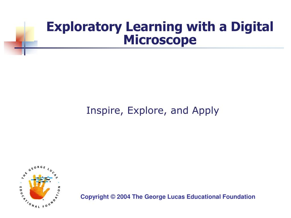 exploratory learning with a digital microscope l.