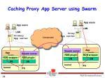 caching proxy app server using swarm