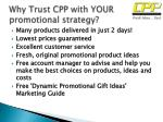 why trust cpp with your promotional strategy