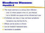 bloodborne diseases hepatitis b