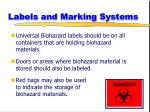 labels and marking systems27