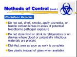 methods of control cont24