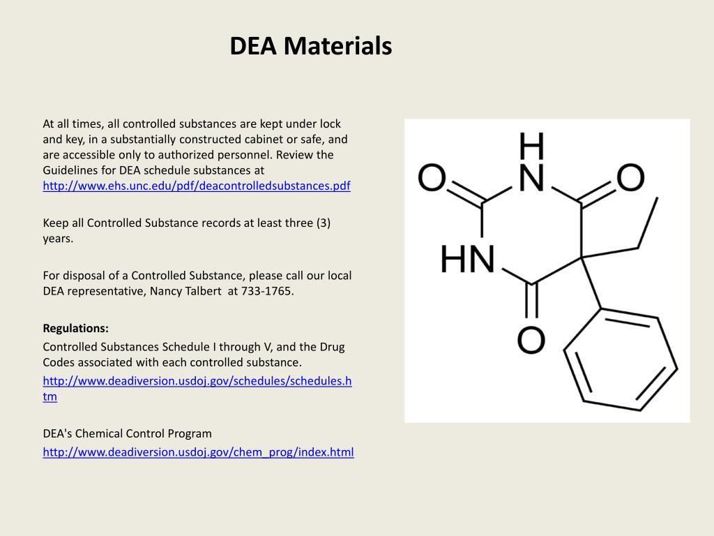 DEA Materials