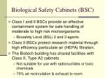 biological safety cabinets bsc