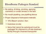 bloodborne pathogen standard44