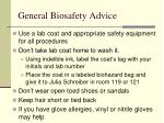 general biosafety advice18