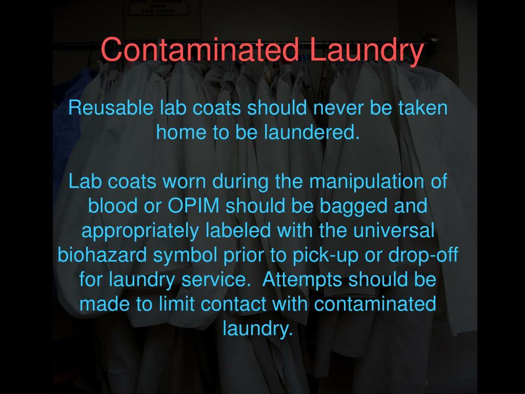 Contaminated Laundry