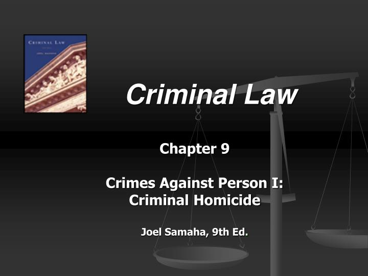 criminal law essay on homicide Let us write or edit the essay on your topic criminal law involuntary manslaughter corporate homicide with a personal 20% discount.