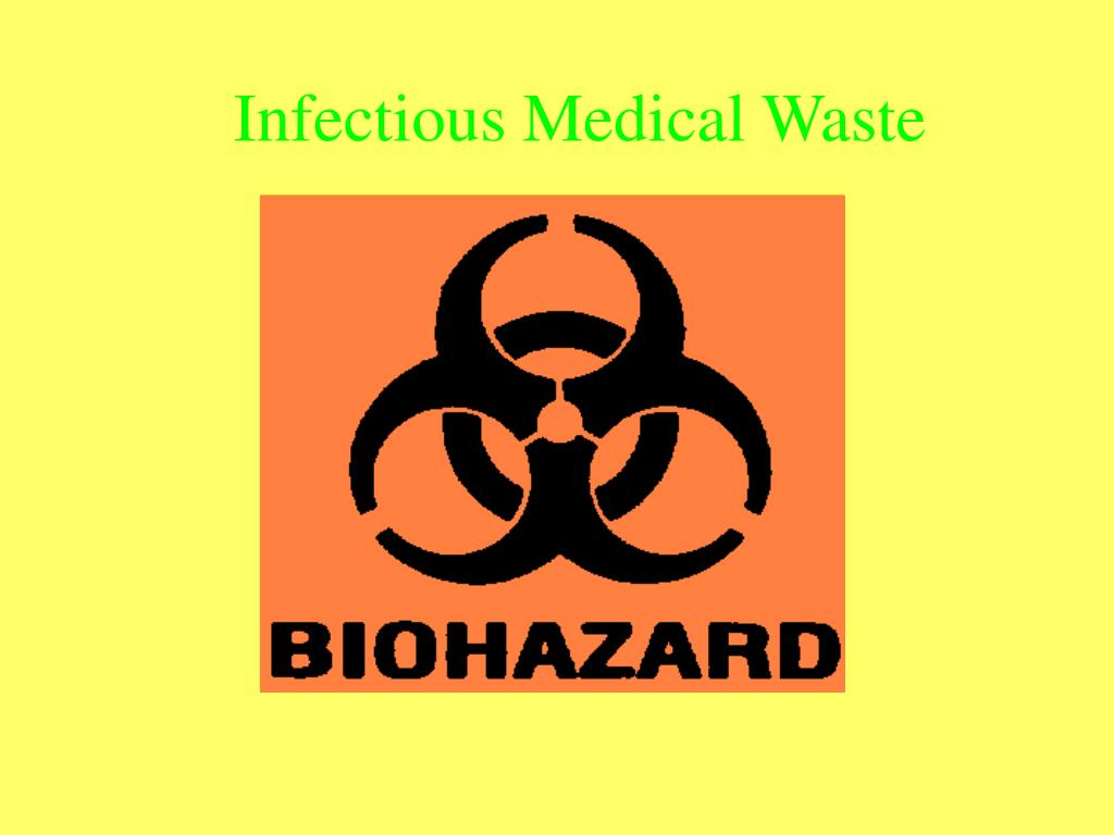 infectious medical waste l.