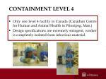 containment level 4