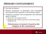 primary containment