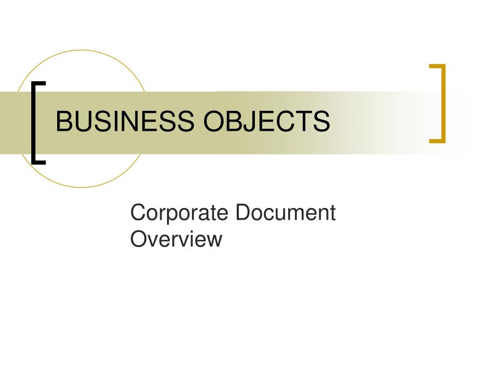 business objects l.