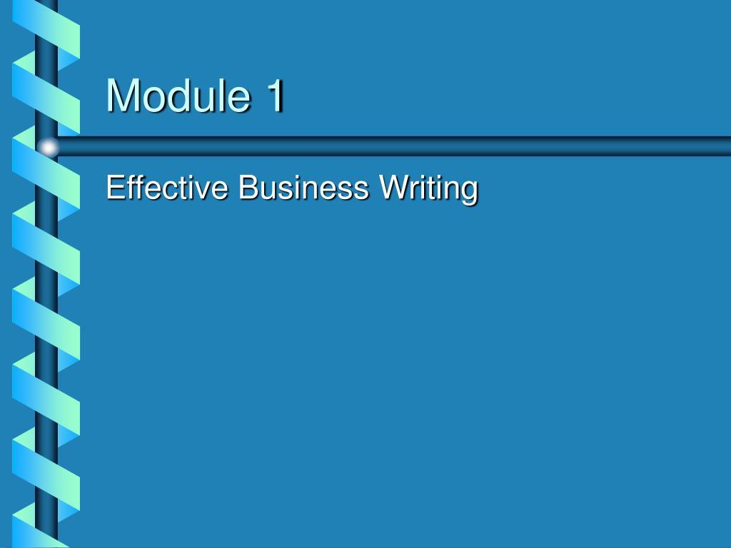 module 1 l.