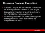 business process execution