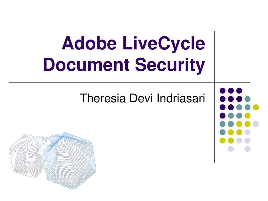 adobe livecycle document security l.