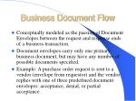 business document flow