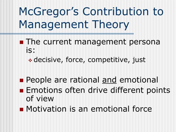 what is recent contribution to management thought Discuss the respective contributions of the scientific management approach and the human relations approach to managing people in organisati.