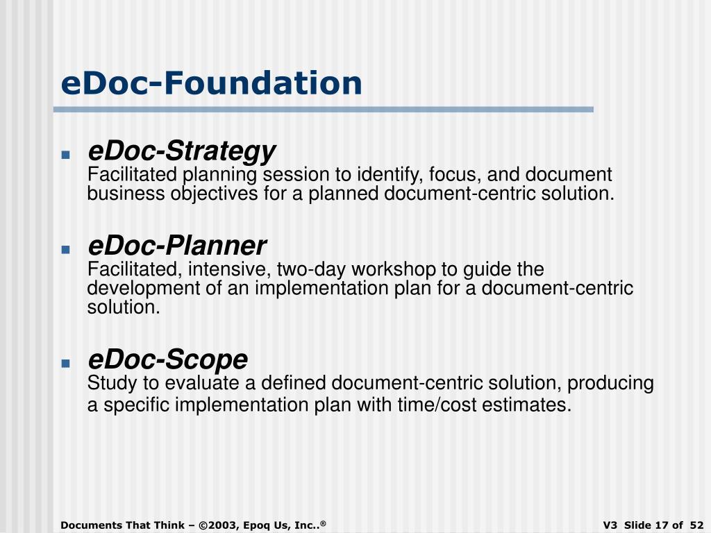 eDoc-Foundation