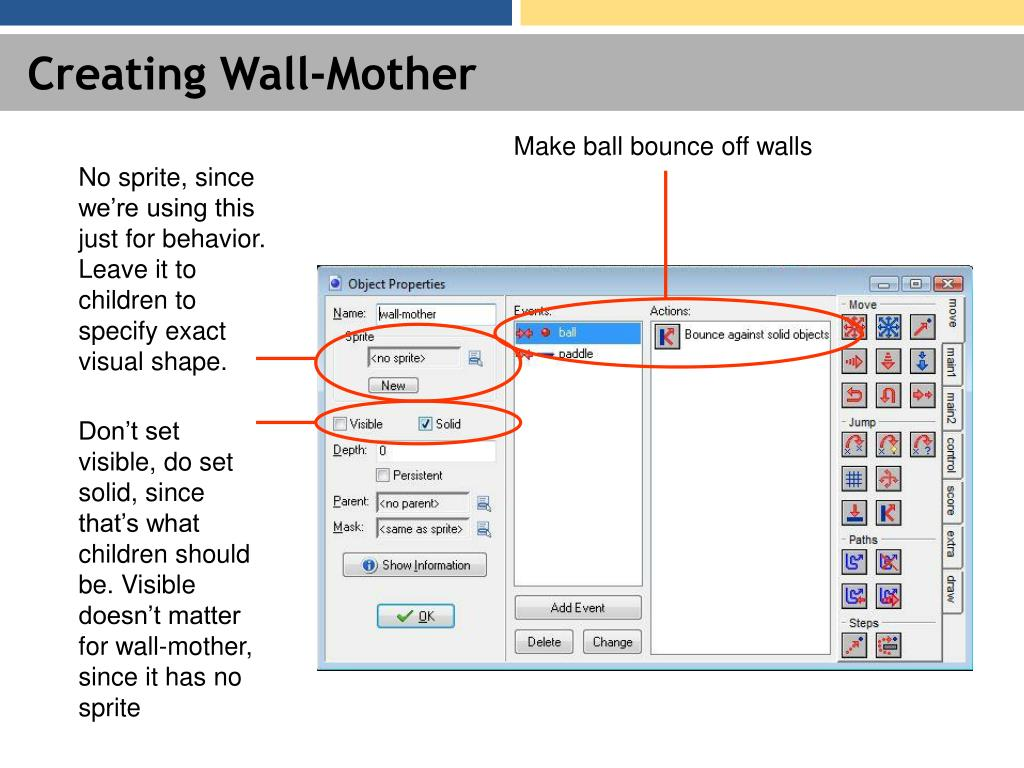 Creating Wall-Mother