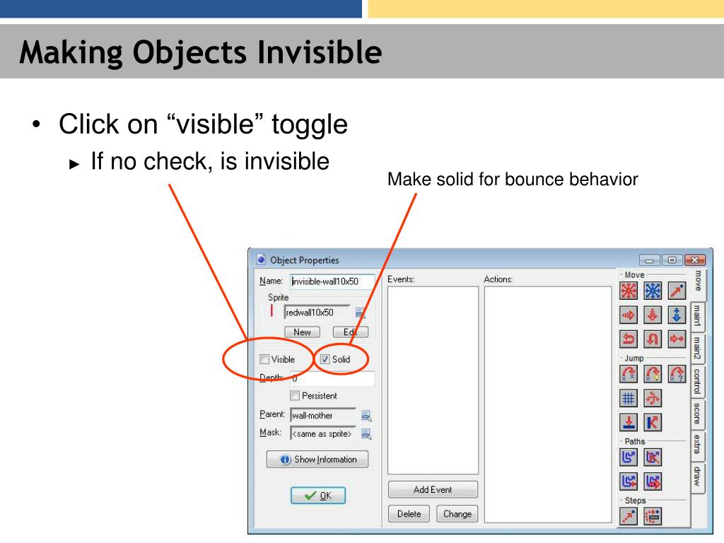 Making Objects Invisible