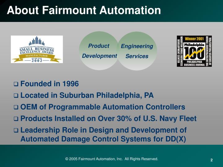About fairmount automation