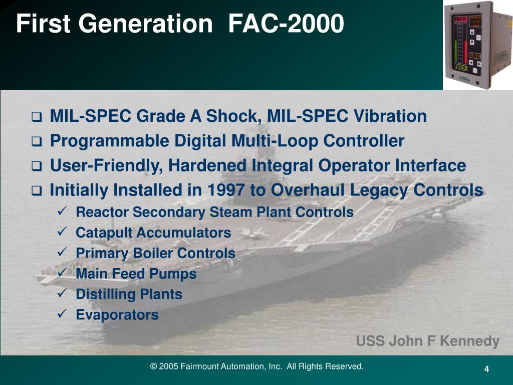 First Generation  FAC-2000